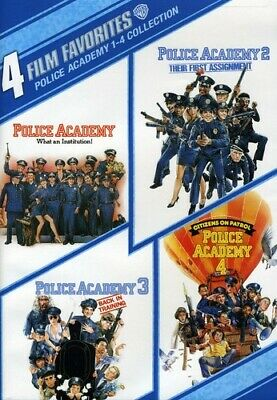 Police Academy 1-4 Collection: 4 Film Fa DVD