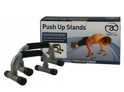 Push Up Stands Fitness Mad Easy Collapse for Portable Training RRP£20.00 Now £12