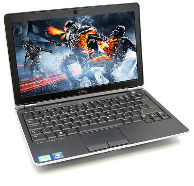 "Cheap gaming laptop Dell Latitude E6220 12.5"" Intel i5 2.5GHz 4GB 8GB 500GB"