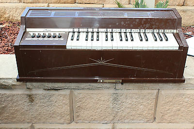Vintage Magnus Electric Chord Organ Model 481 Works