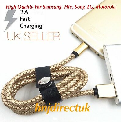 Heavy Duty Micro USB Data FAST Sync Charging Cable For Samsung Galaxy,Htc,LG