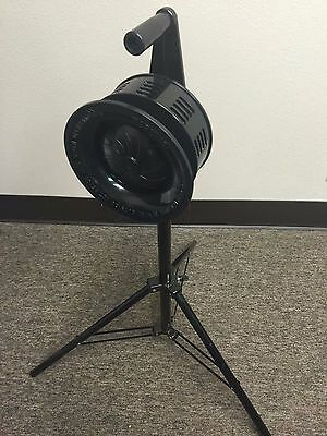 Large Tripod Mount Metal Hand Crank Siren Emergency Air Raid Warning HC15M-TRI
