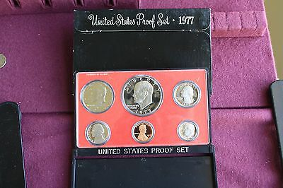 1977-S US Mint Proof-Set Beautiful GEM BU 6 Coins With-Box FREE SHIPPING
