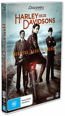 BRAND NEW Harley and The Davidsons (DVD, 2017, 2-Disc Set) R4 Series 1