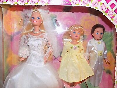 1994 Barbie Wedding Party Doll Deluxe Set Stacie Todd Nrfb Mint Free Shipping