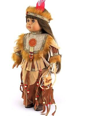 "Doll Clothes 18"" Dress Native American Dream Catcher Fits American Girl Doll"