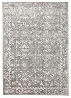 Persian Design Transitional Floor Area Rug Istanbul Grey Allover