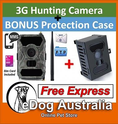 3G Trail Camera Home Security Hunting Scout Farm Night Vision 12MP 1080P HD Case