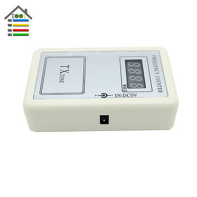 Frequency Counter Remote Control Handheld Meter Wireless Reader 250MHz-450MHz