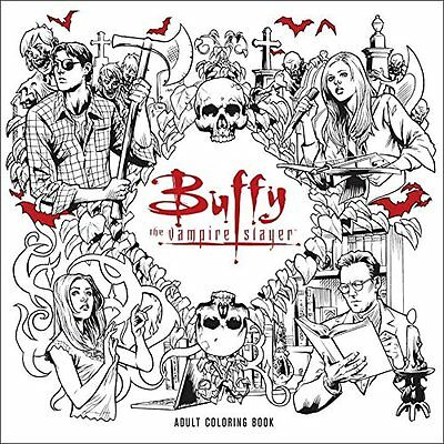 Buffy the Vampire Slayer Adult Coloring Book  by Fox (Paperback)