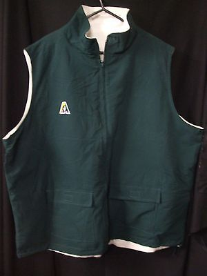 Ladies Domino's Reversable Lawn Bowls Jacket, Bottle Green and White, Size 22