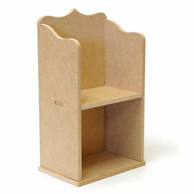 Kaisercraft BTP - Unfinished MDF Wood Wooden DIY Mini Album Bookshelf