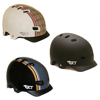 Tilt Urbane Retro Bike Helmet One size fits all 4 Retro Styles