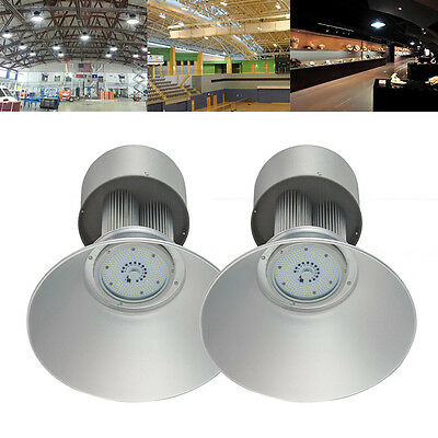 2X 150W LED High Bay Light Lighting Factory Workshop Office Industry Warehouse