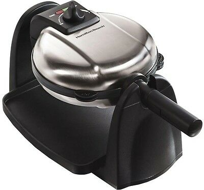 Waffle Maker/Baker Machine Stainless Nonstick Kitchen Electric Commercial Flip
