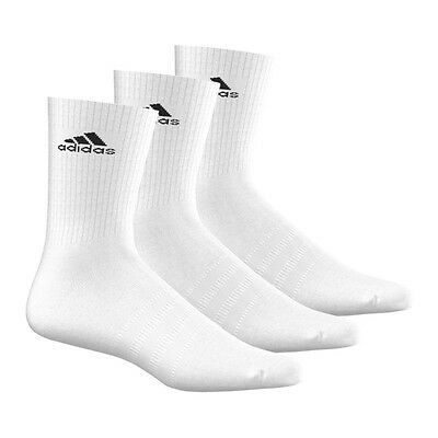 adidas 3S Performance Crew Socks 3er Pack Weiss
