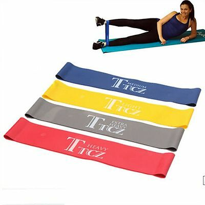 Gym Loop Exercise Strength Training Ruber Elastic Band Resistance Bands