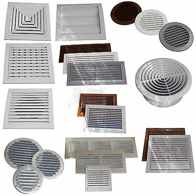 Air Vent Grille Cover  Ventilation Grill Covers Gravity Flaps Adjustable