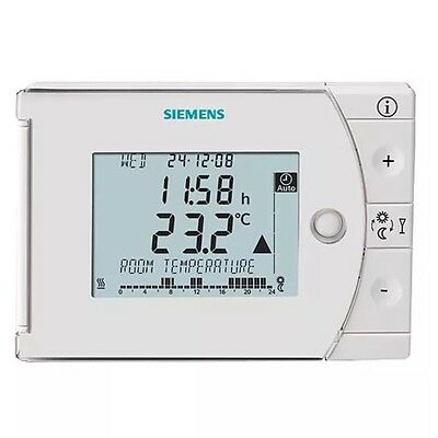SIEMENS REV24 Room thermostat with 7-day time switch Digital BNIP NEW