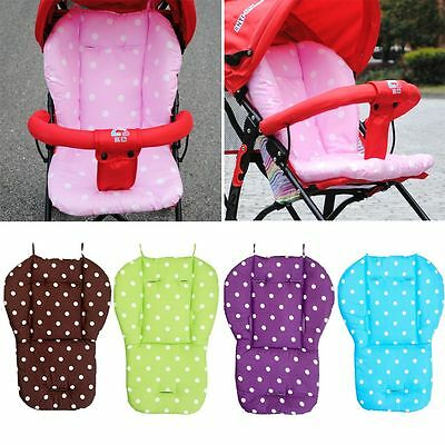 Child Car Seat Pad Baby Stroller Mat Kid Feeding Chair Cushion Buggy Carriage