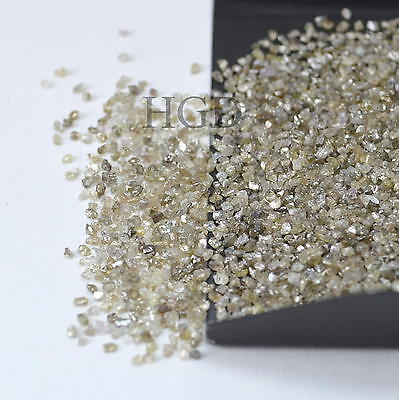 100% NATURAL Loose Rough Raw Uncut Rare Real Diamonds Fancy Brown 1.50mm 5 crts+