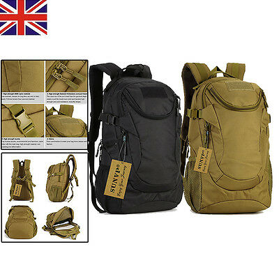 25L Molle Assault Tactical Outdoor Military Rucksack Backpack Camping Hiking Bag