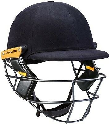 Masuri Original Series Mk ll Test Steel Navy Cricket Helmet