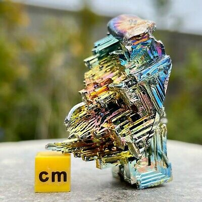 Bismuth - LARGE High Quality Mineral / Crystal - RSR063