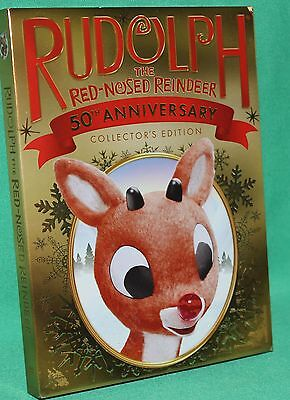 Rudolph The Red-Nose Reindeer 50Th Anniversary Collector's Edition Dvd New Pkg.