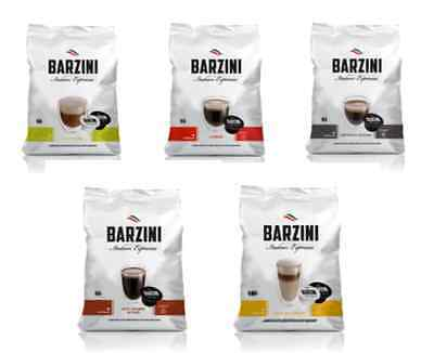 Barzini Italian Espresso Dolce Gusto Compatible Pick from 5 Blend 16 Pods 3 Pack