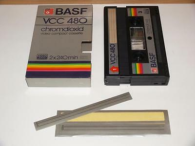 V2000 / Video 2000 ~ BASF VCC 480 Chromdioxid Video Compact Cassette (1)