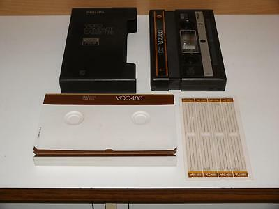 V2000 / Video 2000 ~ Philips VCC 480 Video Compact Cassette