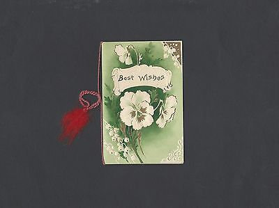 Vintage Unused Christmas Card circa World War l