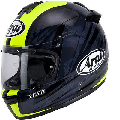 Arai Chaser V Blast Black Yellow Motorcycle Full Face Helmet January Sale