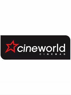 Cineworld Cinema - adult or child voucher/code for 2D movie. SAVE £££s