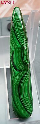 ► MALACHITE MASSAGGIO CM 8.86 x CM 1.88 CRISTALLO TERAPIA QUALITA' AAAA+ WAND ◄