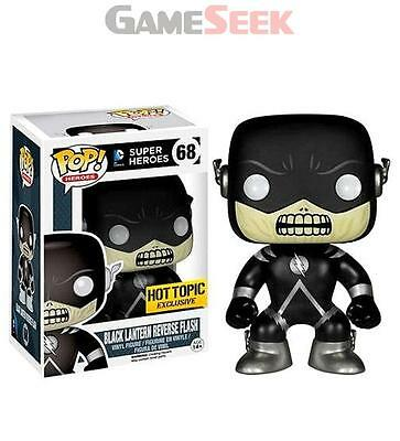 Pop Vinyl Dc Black Lantern - Figures Gaming Brand New Free Delivery