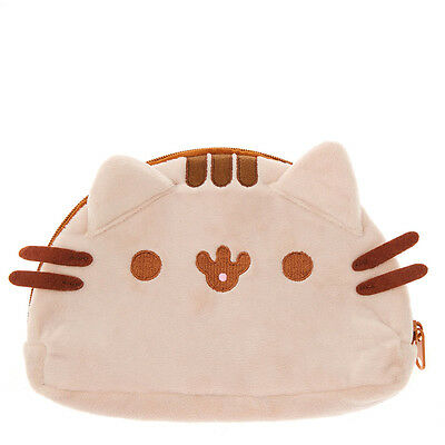 Claire's Girls and Womens Fluffy Pusheen Zipped Case