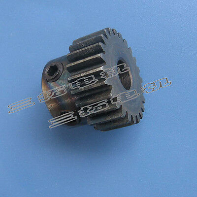 1Pcs Spur Gear 1Mod 24T 1M24T Motor Gear With Fixing Screw M6*6 Bore 6/8/10mm