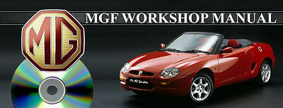 MGF Workshop Manual on CD
