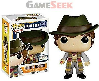 Pop Vinyl Dr Who Dr #4 No.232 - Figures Gaming Brand New Free Delivery