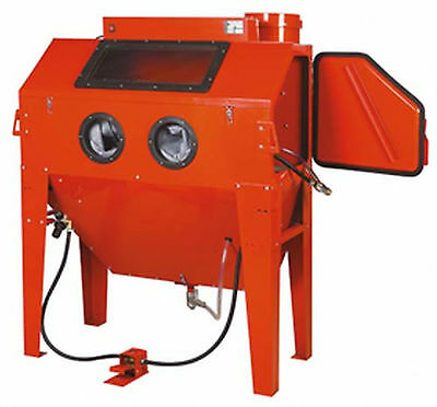 Booth sandblaster from arena 340 litres