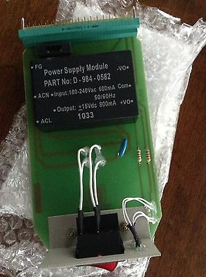 Power Supply Module For Safe Scan 1&2 Flame Scanner Amplifier