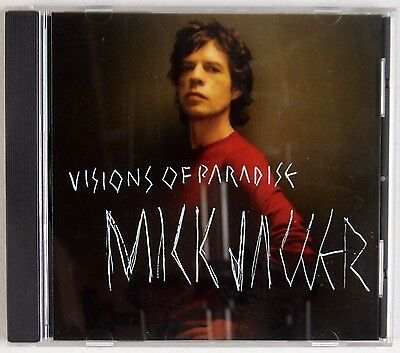 MICK JAGGER: Visions of Paradise USA Advanced Promo Rolling Stones CD Rare 2001