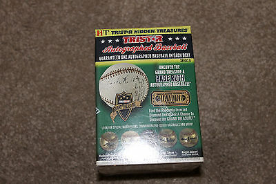 NEW SEALED 2016 TriStar Hidden Treasures Autographed Baseball Series 8 Signed