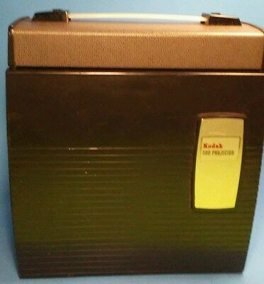 Vintage Kodak 500 Model A Portable 35Mm Slide Projector With Case