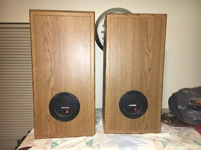 Infinity Reference three speakers