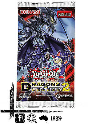YuGiOh - Dragons Of Legend 2 Booster Pack. 1st Edition (DRL2)