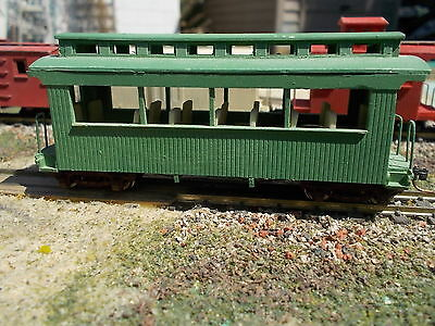 HOn30 24 foot Excursion Car Craftsman kit, by Railway Recollections