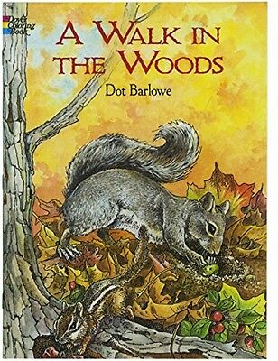 Coloring Book For Adults Beautiful Forest Animals 32 pages English Version Gift